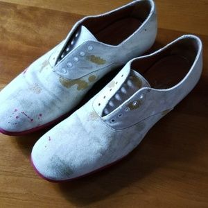 Stunning YSL painted oxfords